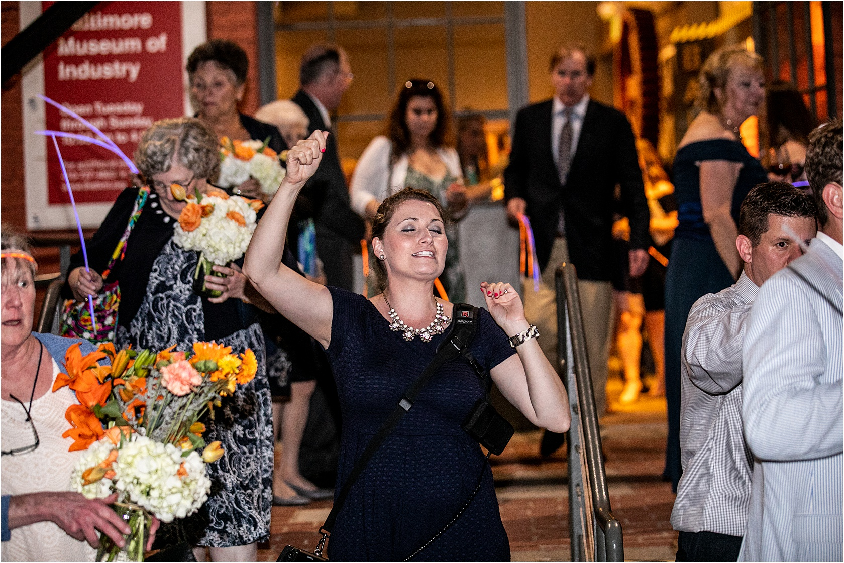 Oh good Lawd… worse behind the scenes photo of the year. Me asking guests to hold sparklers high. Thanks Patrick.