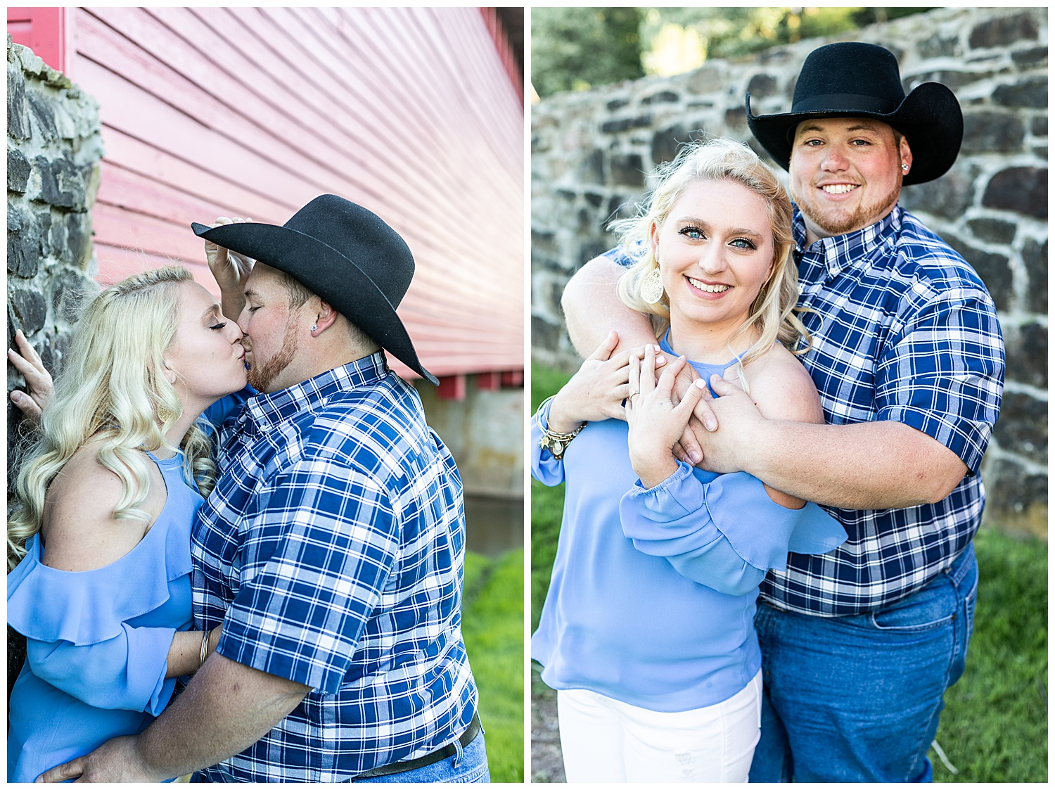 Kaitlin Justin Frederick Country Rainy Engagement Session Living Radiant Photography_0001.jpg