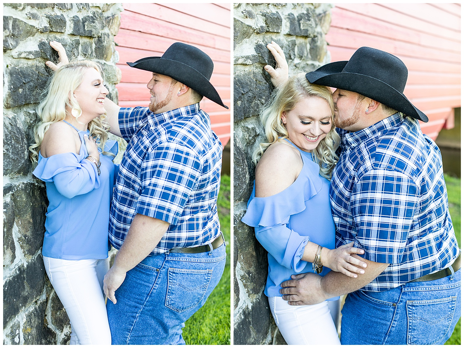 Kaitlin Justin Frederick Country Rainy Engagement Session Living Radiant Photography_0004.jpg
