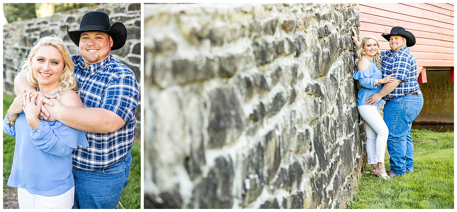 Kaitlin Justin Frederick Country Rainy Engagement Session Living Radiant Photography_0008.jpg