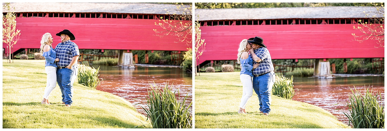 Kaitlin Justin Frederick Country Rainy Engagement Session Living Radiant Photography_0011.jpg