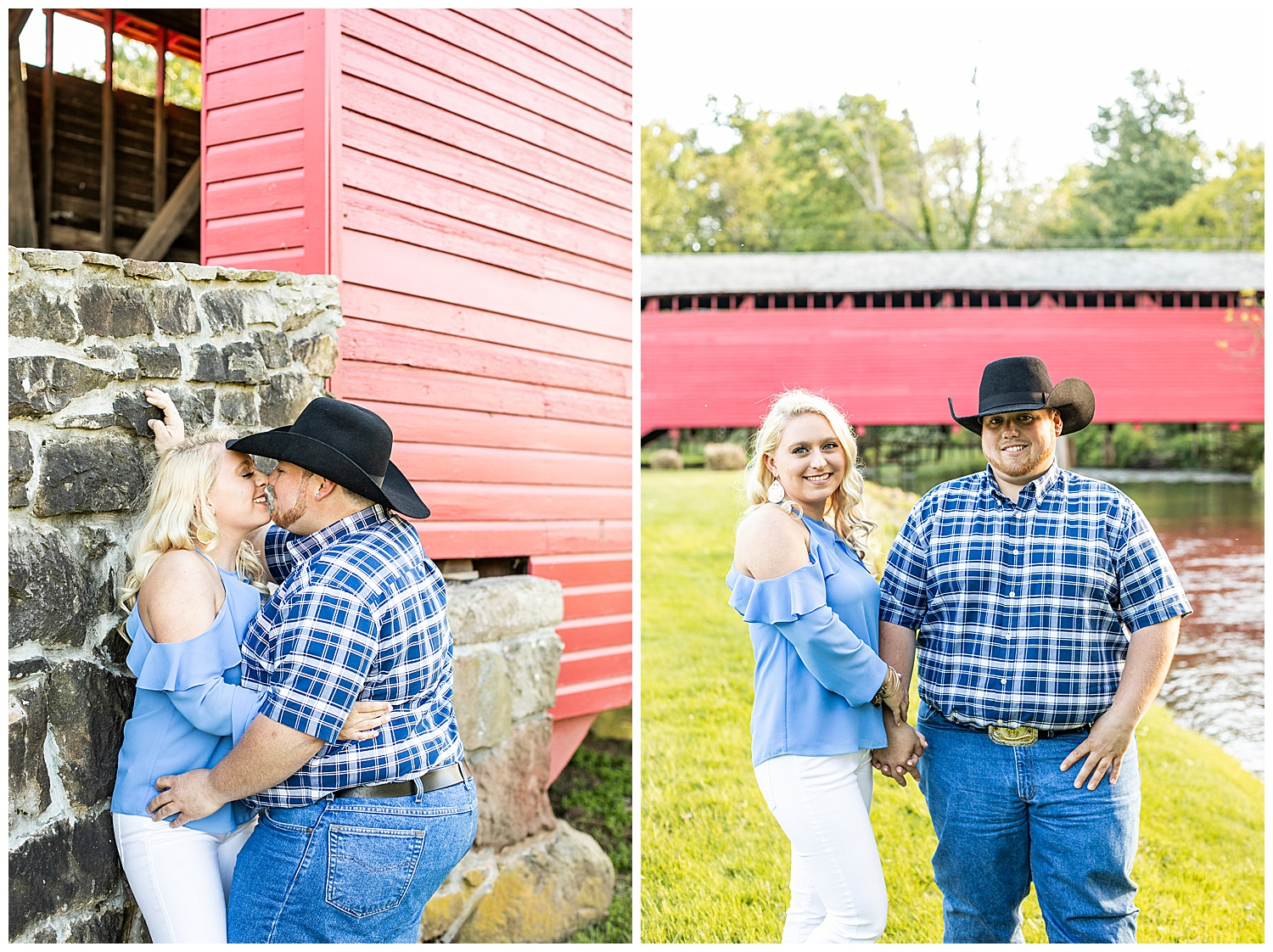 Kaitlin Justin Frederick Country Rainy Engagement Session Living Radiant Photography_0010.jpg