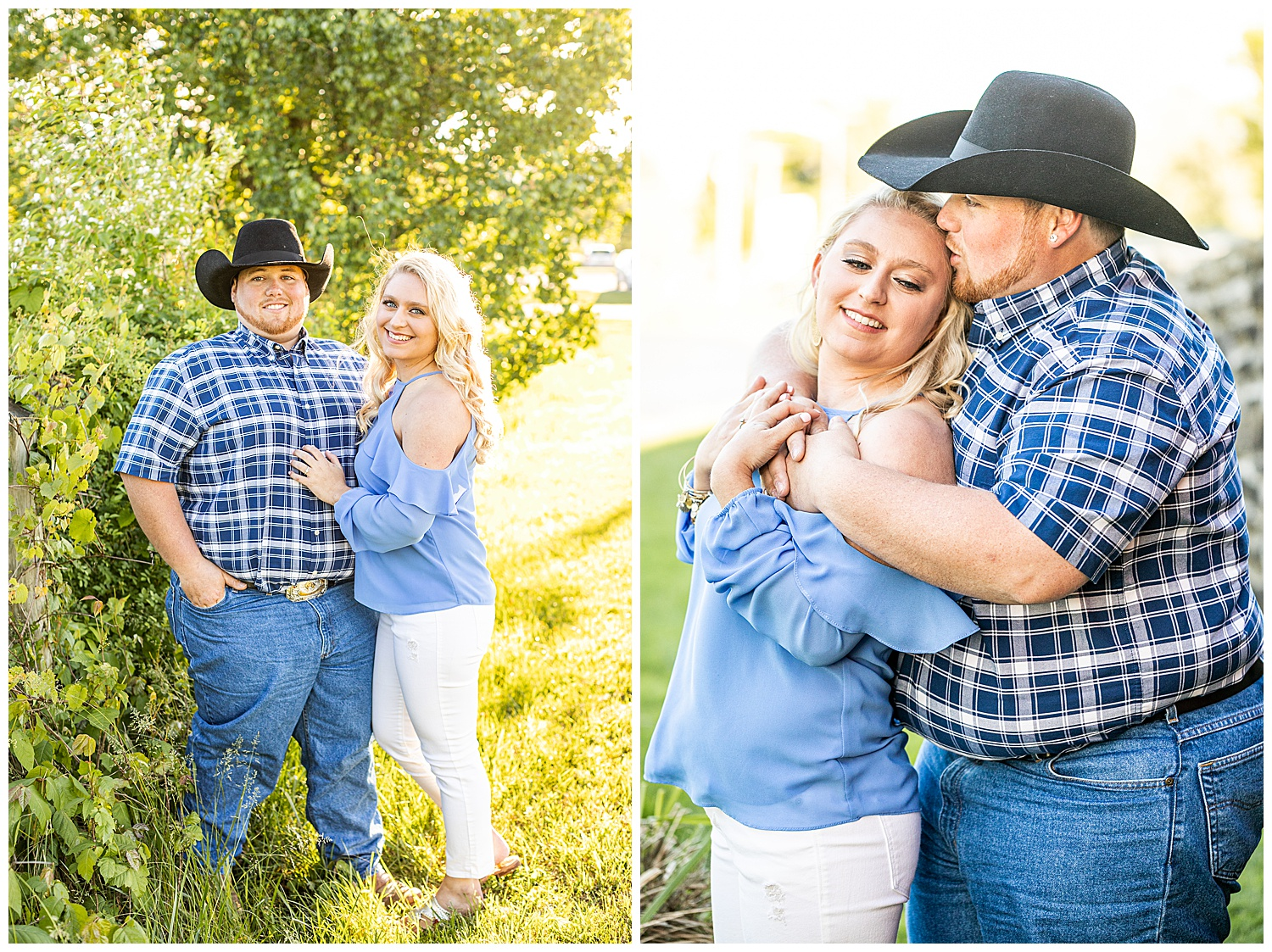 Kaitlin Justin Frederick Country Rainy Engagement Session Living Radiant Photography_0012.jpg