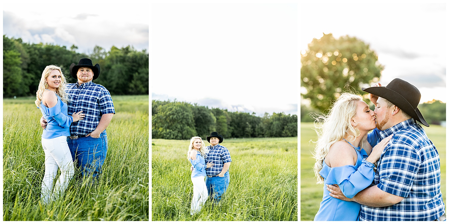 Kaitlin Justin Frederick Country Rainy Engagement Session Living Radiant Photography_0017.jpg