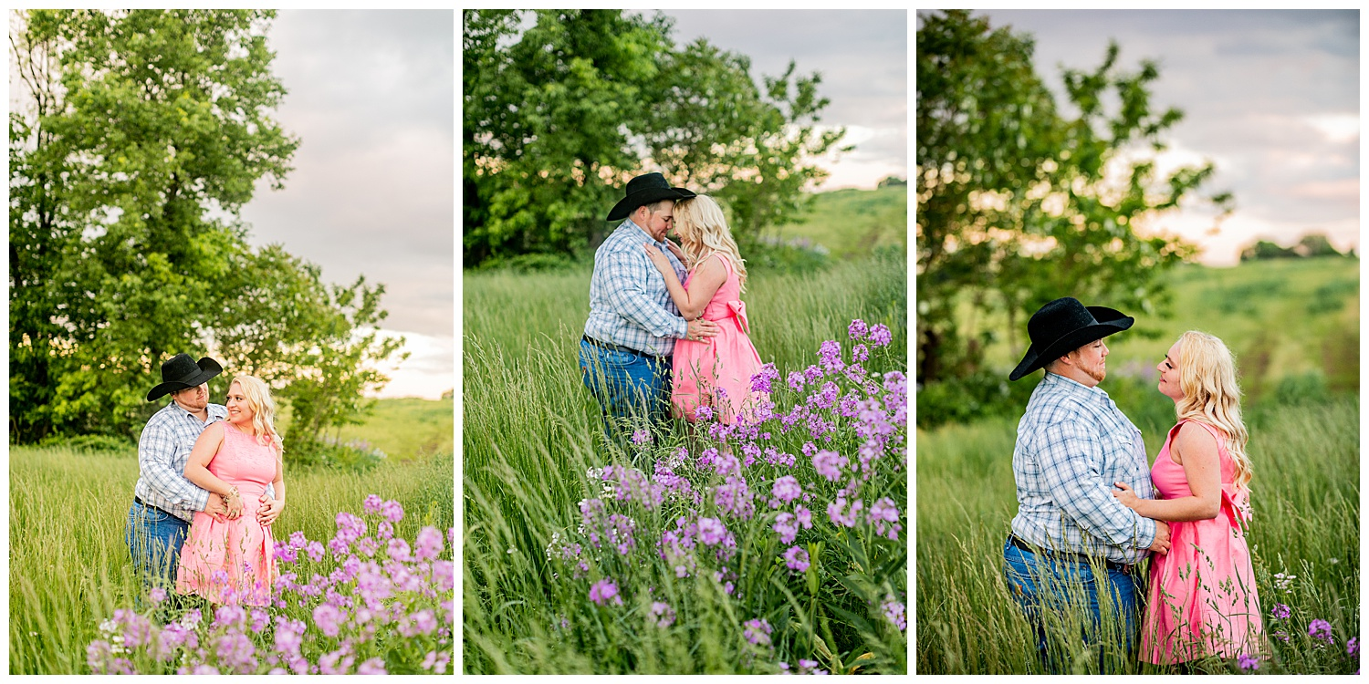 Kaitlin Justin Frederick Country Rainy Engagement Session Living Radiant Photography_0022.jpg