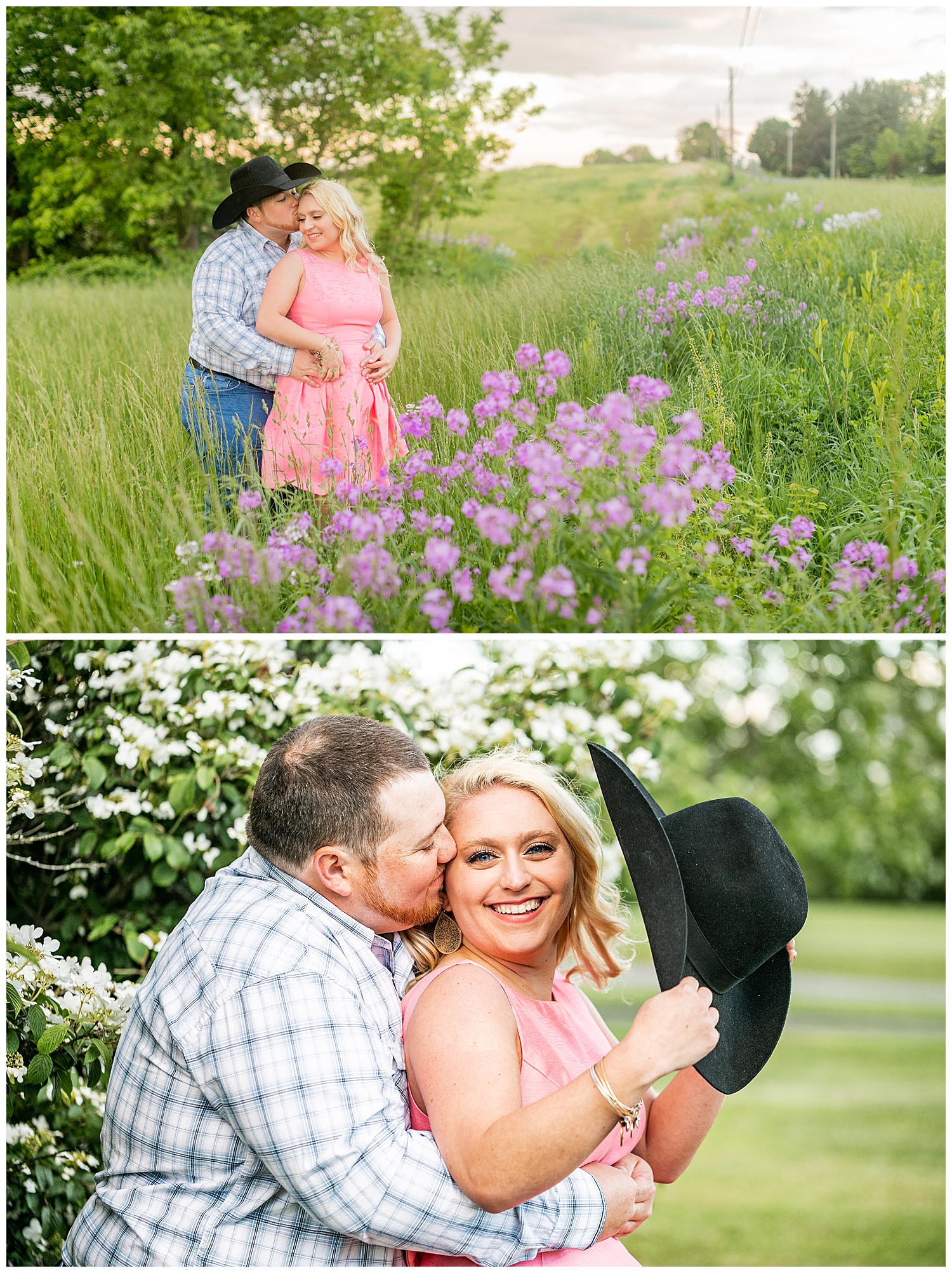 Kaitlin Justin Frederick Country Rainy Engagement Session Living Radiant Photography_0023.jpg