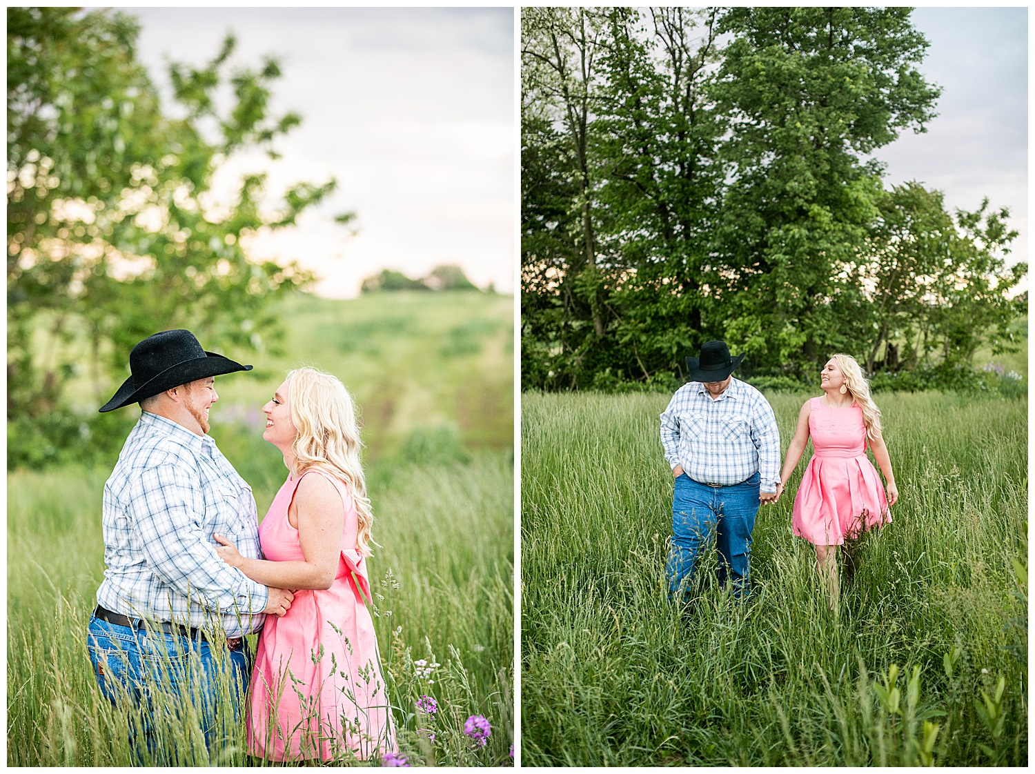 Kaitlin Justin Frederick Country Rainy Engagement Session Living Radiant Photography_0028.jpg