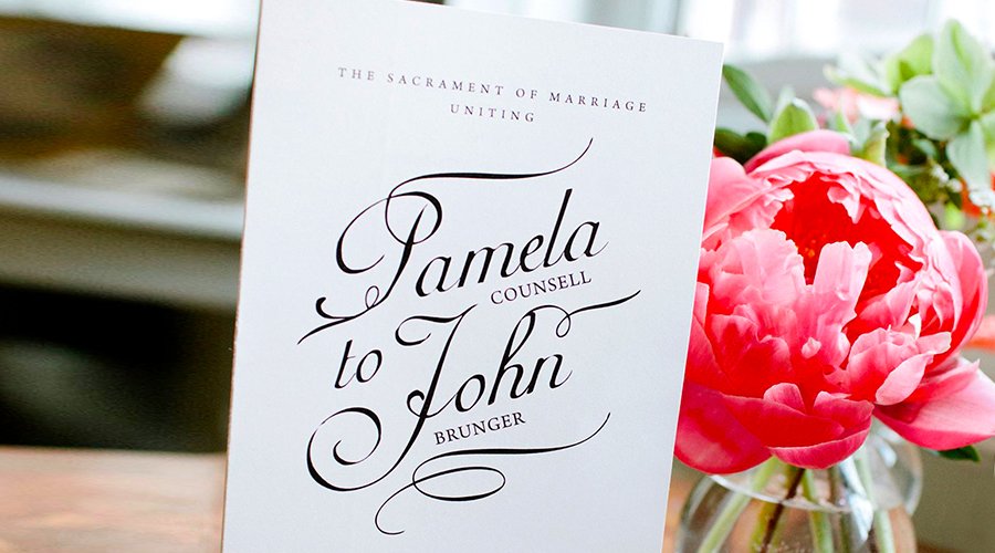 WEDDING :: Ceremony Programs