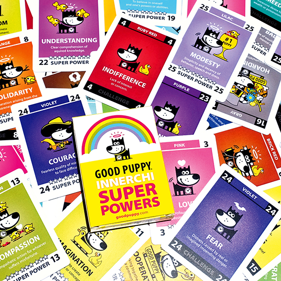 GOOD PUPPY INNERCHI Super Powers Playing Cards