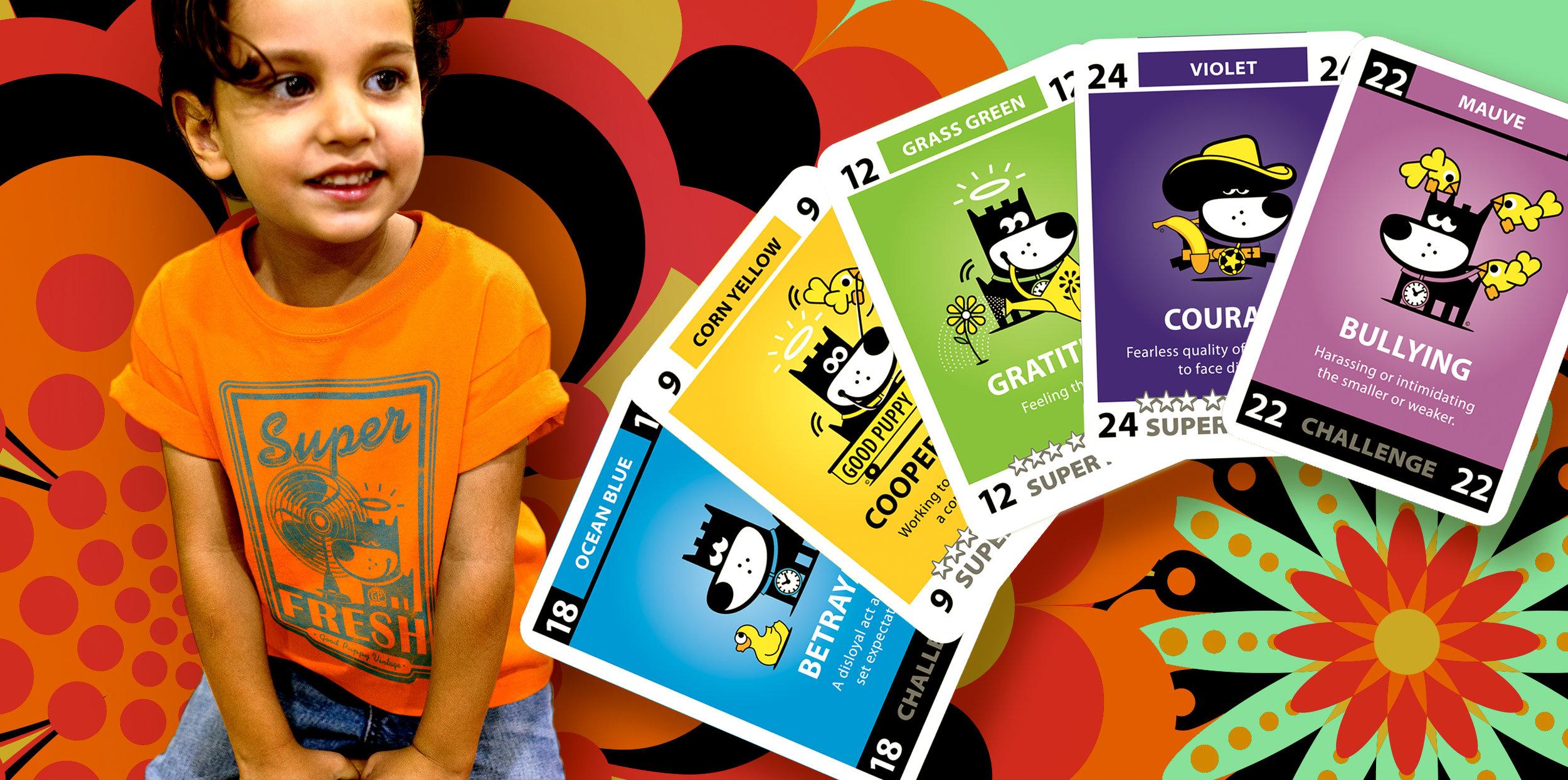 GOOD PUPPY Innerchi Super Powers Card Set