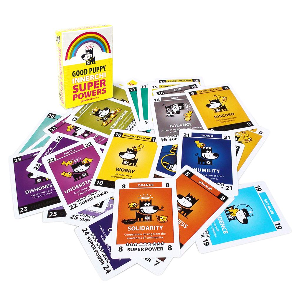 Child Cognitive Behavioral System Super Powers Card Deck