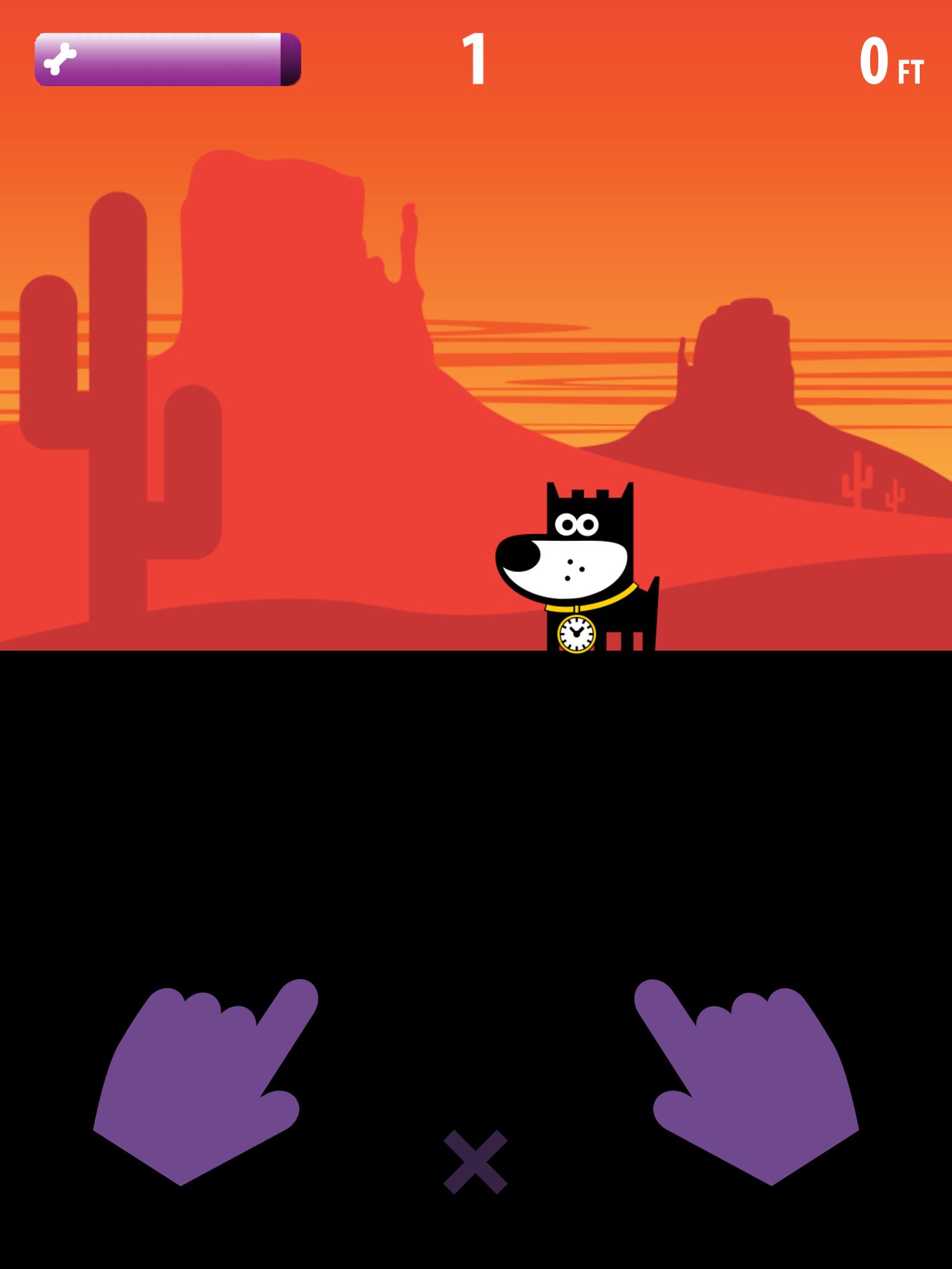 GOOD PUPPY DIG-Infinite Runner-Fast Retro Arcade Game