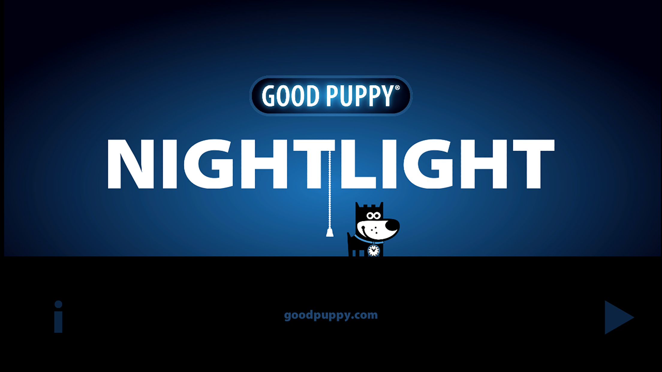 GOOD PUPPY NIGHTLIGHT - Children's Bedtime Companion - Free App