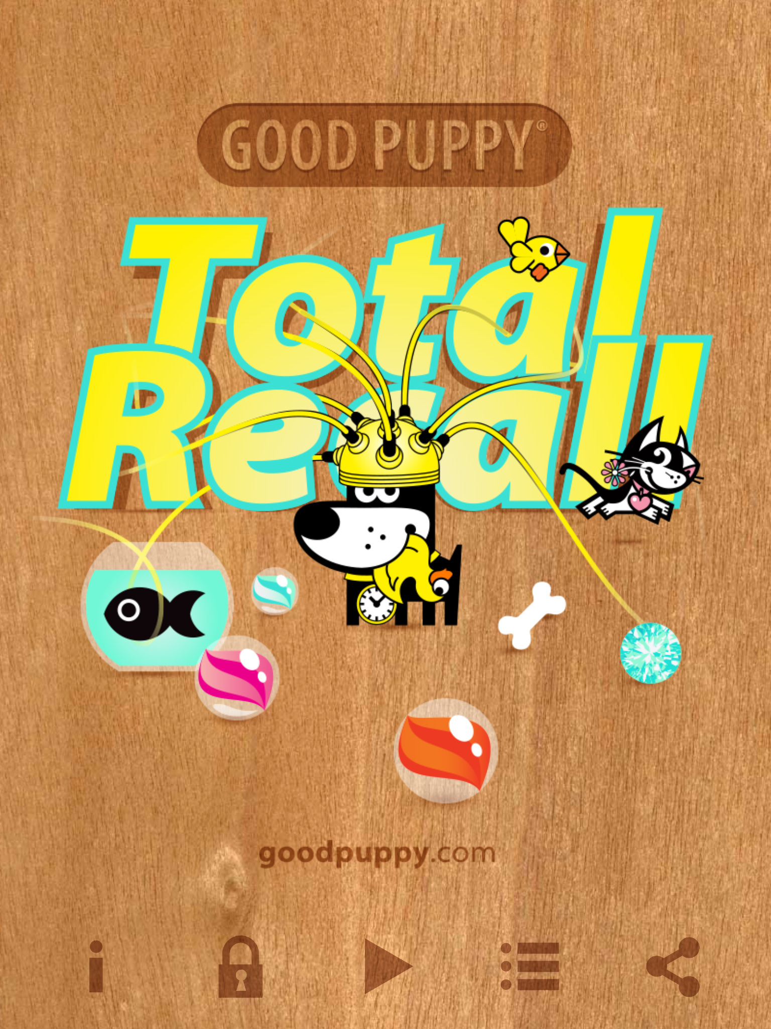 GOOD PUPPY TOTAL RECALL - Free Memory Matching Card Game For All Ages