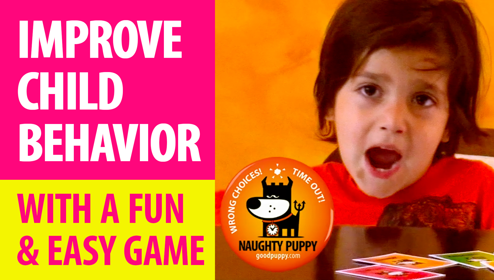 IMPROVE CHILD BEHAVIOR : With A Fun & Easy Game : How It Works