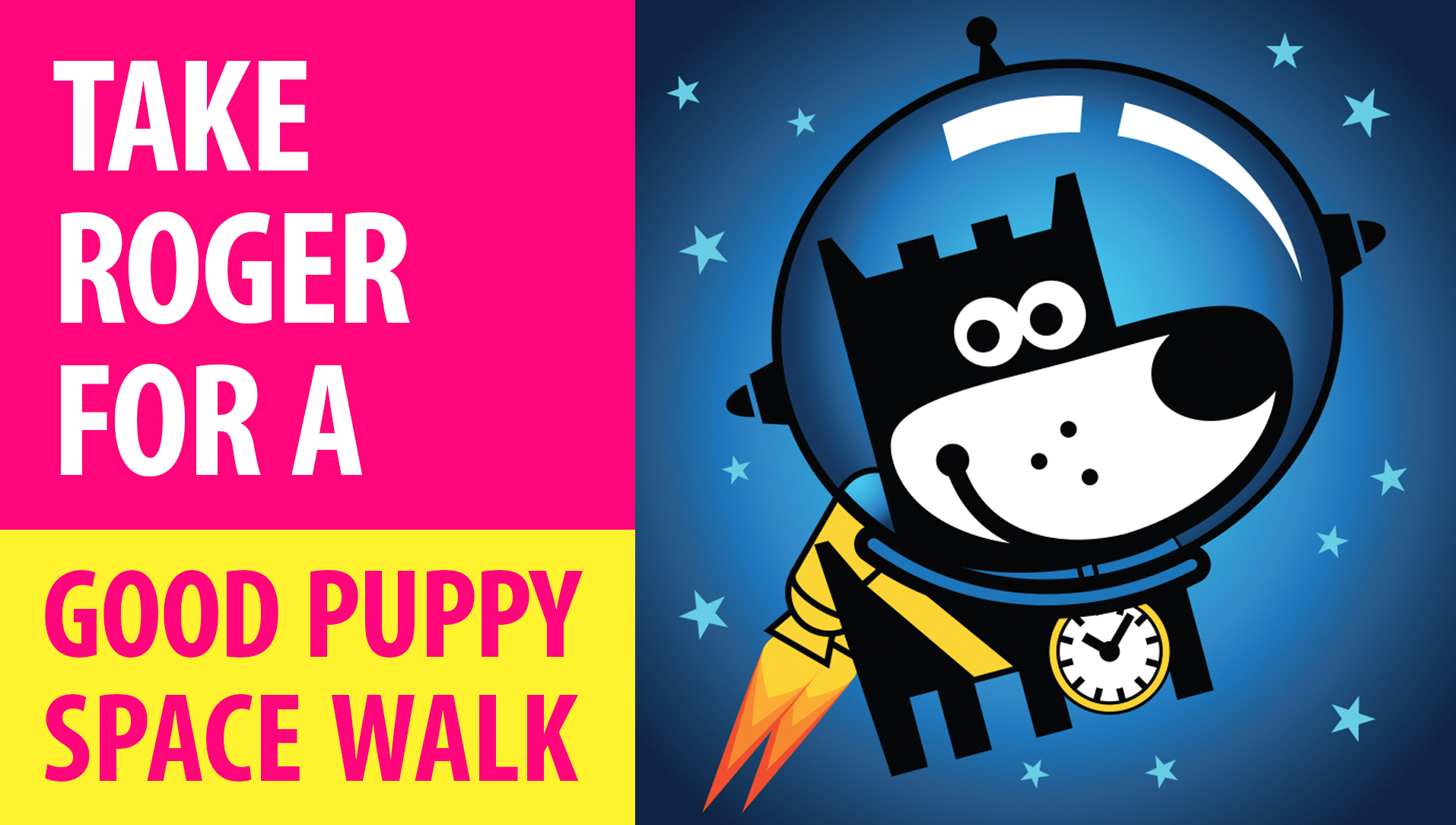 CHANEL : APPS & GAMES : GOOD PUPPY SPACE WALK : Take This Puppy For An Infinite Run