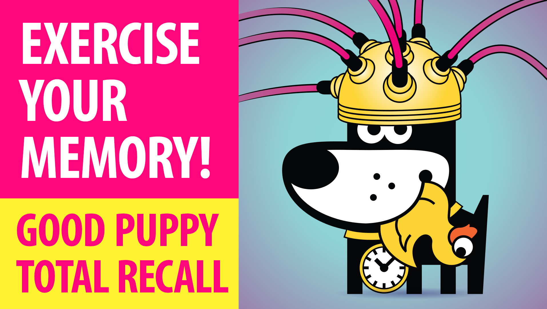 CHANEL : APPS & GAMES : GOOD PUPPY TOTAL RECALL : Exercise Your Memory & Grow Your Brain Power