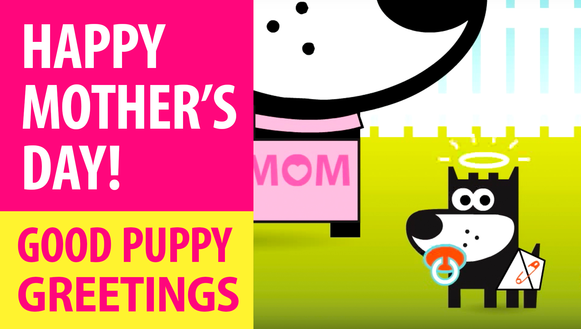 Happy Mother's Day! Animated Greeting Cards - Free E-Cards By GOOD PUPPY