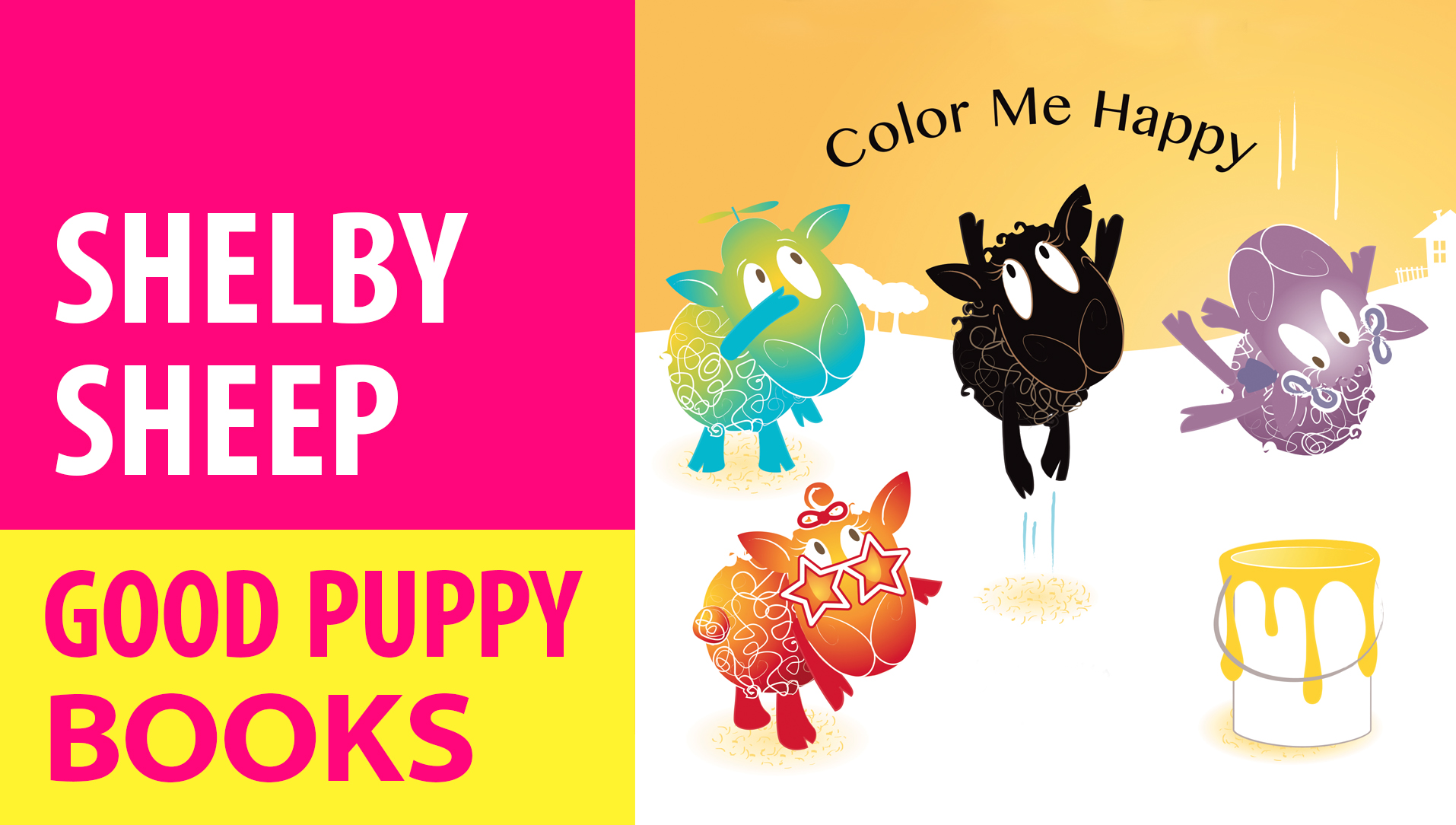 CHILDREN'S PICTURE BOOKS : Shelby Sheep In Color Me Happy
