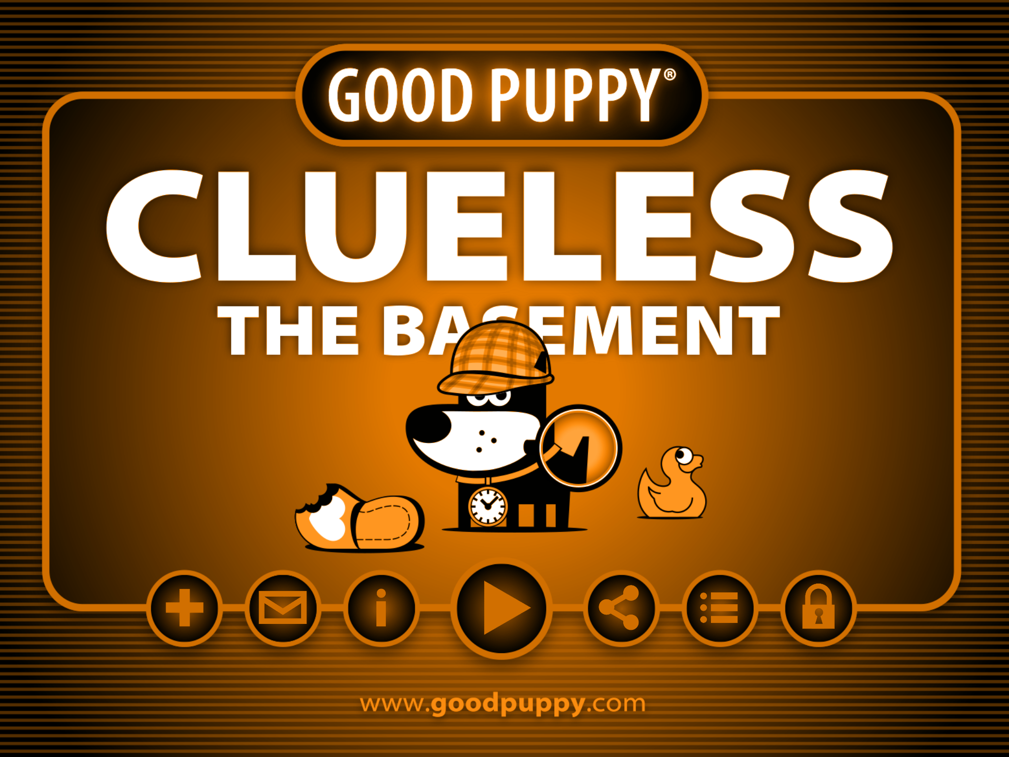 Retro 80s Action Adventure Platform Game : GOOD PUPPY CLUELESS
