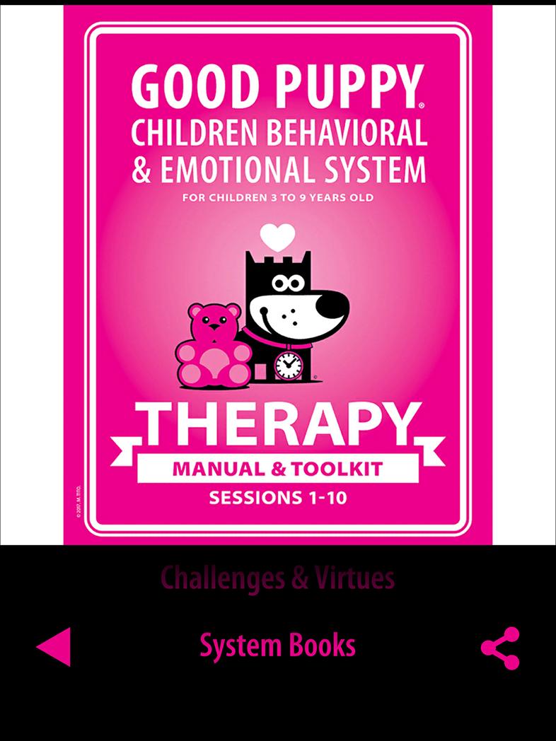 Child Behavioral Tools Catalog App