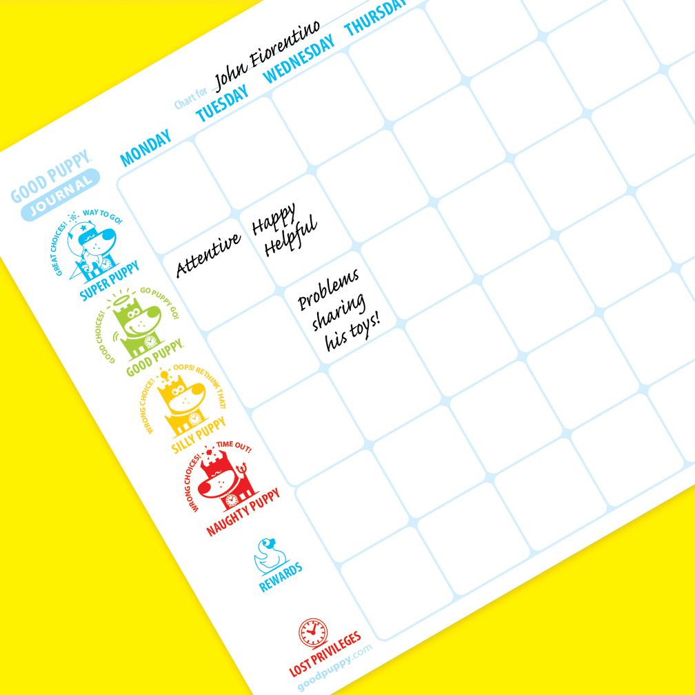 Child Behavioral Chart - Rewards System