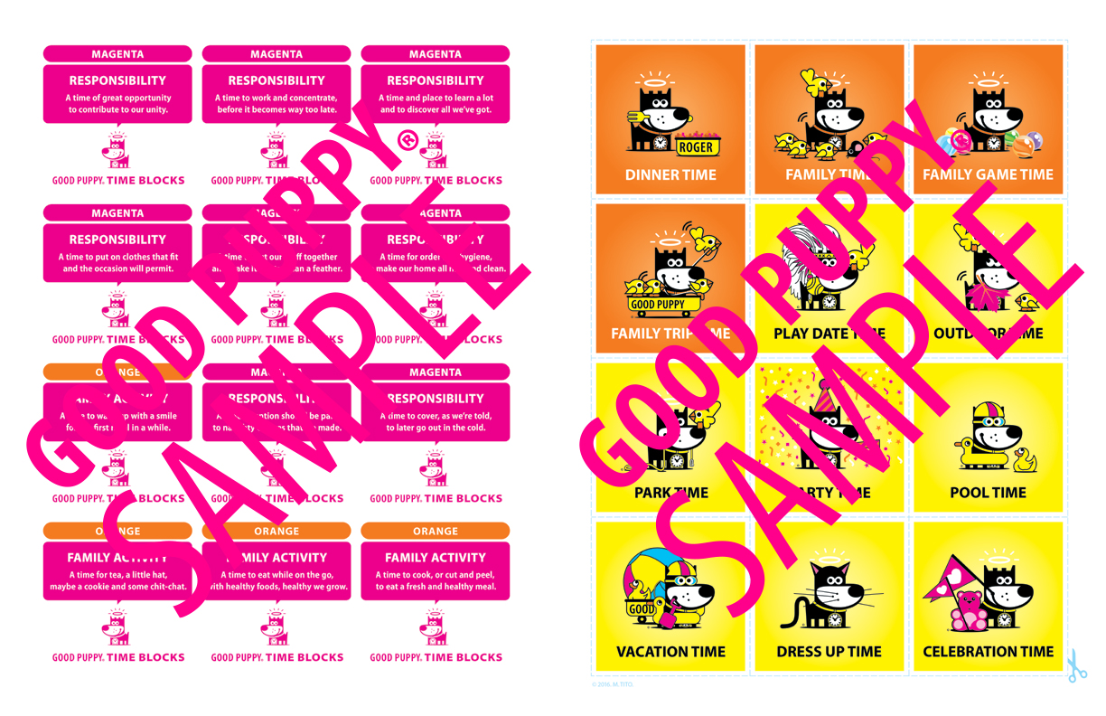 Kids Visual Schedule Cards For School