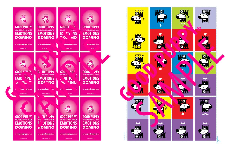 Children Emotions Domino Game For School