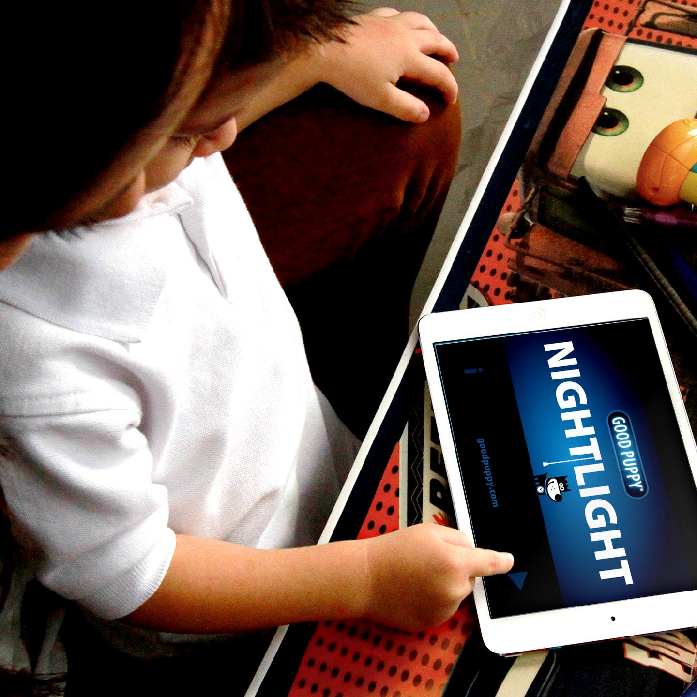 Free Children's Night Light App - GOOD PUPPY NIGHTLIGHT