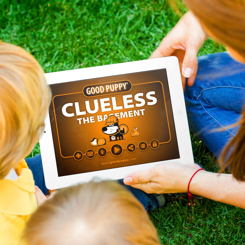 Adventure Platform Game - GOOD PUPPY CLUELESS - THE BASEMENT
