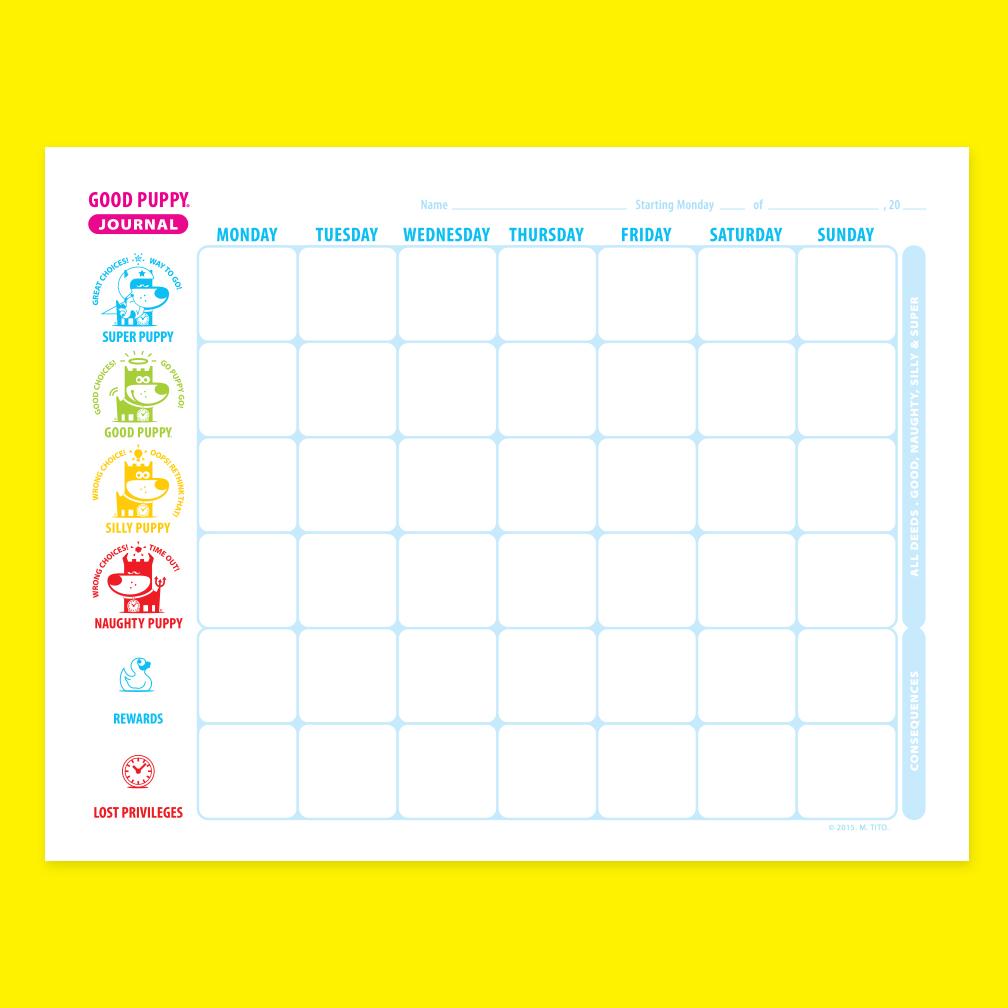Child Behavioral Rewards Chart