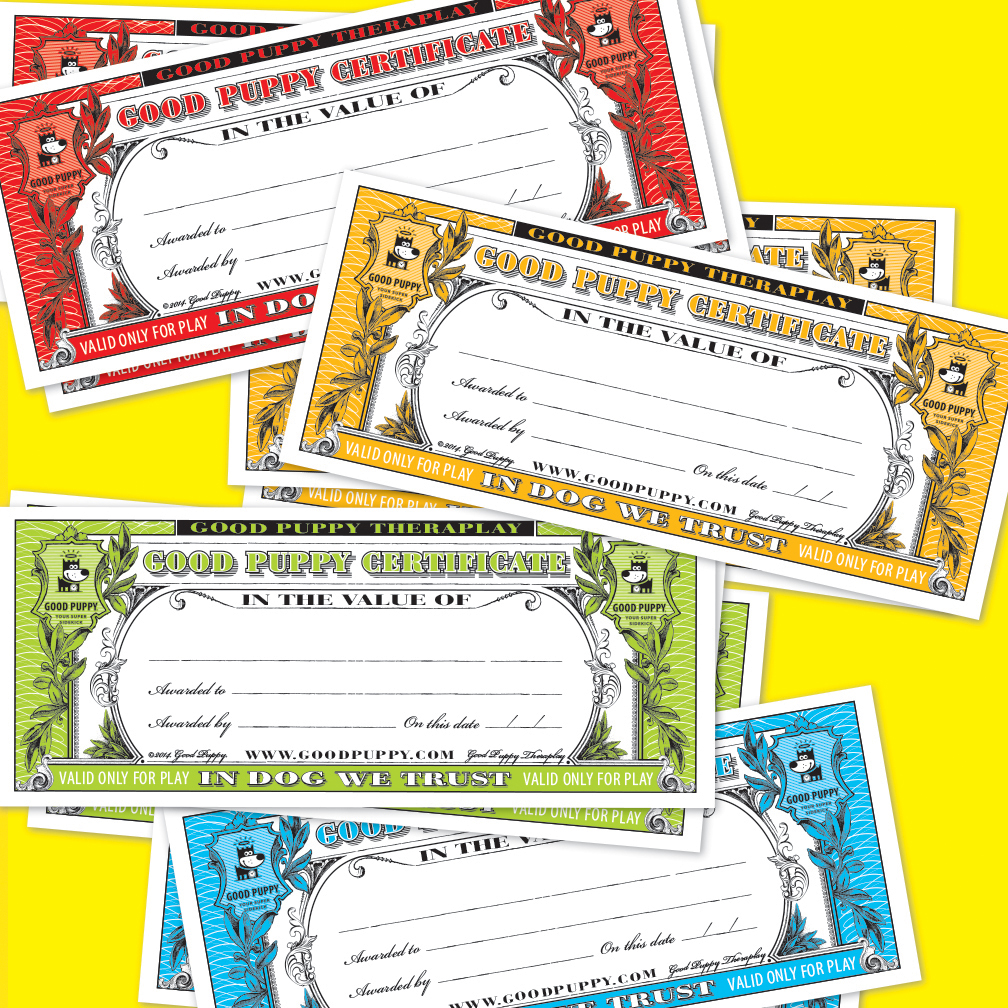 Child Cognitive Behavioral Positive Reinforcement Gift Certificates