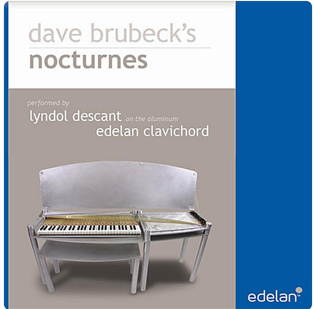 Dave Brubecks Nocturns played on a modern clavichord  - Release  2012