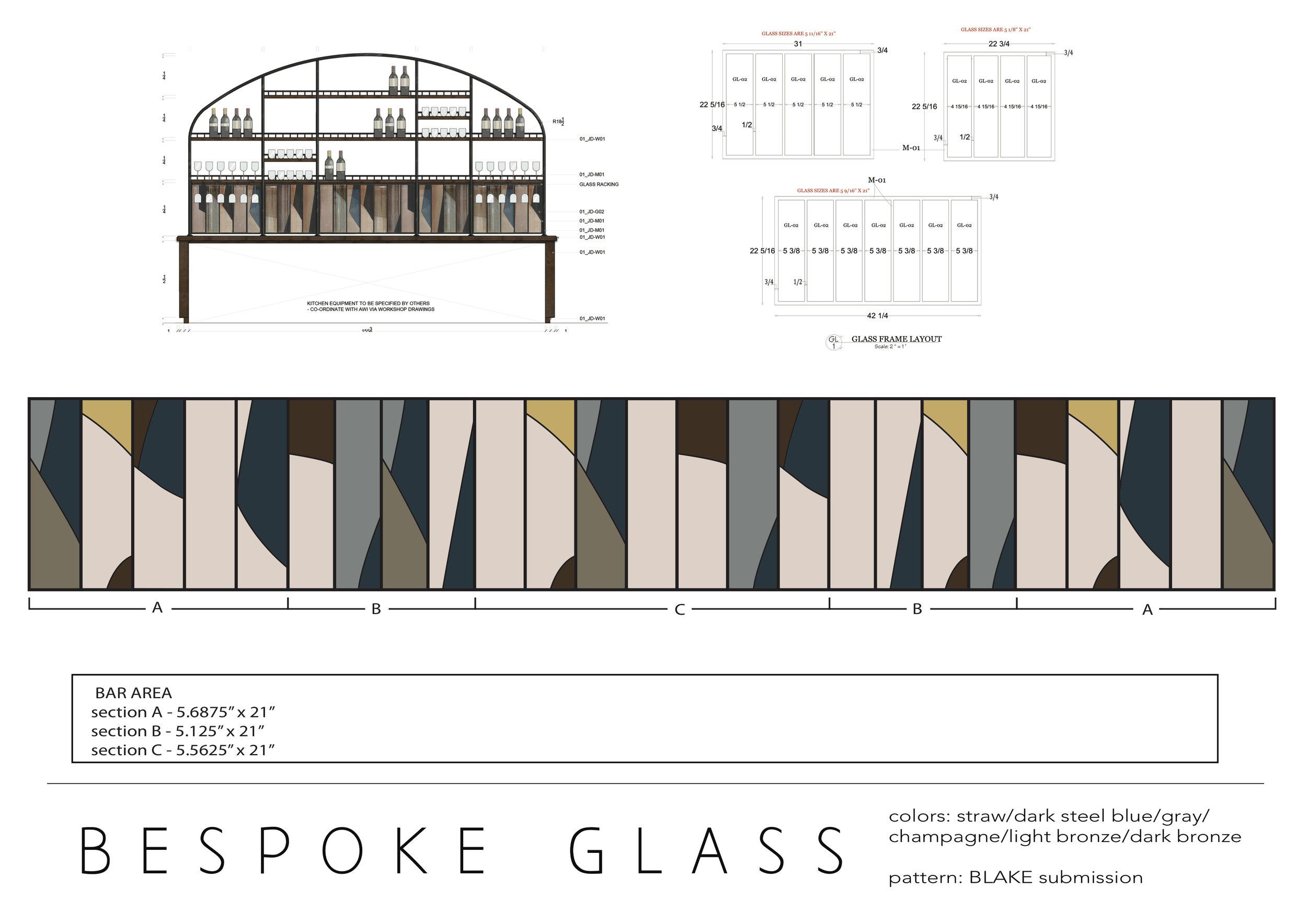 Design Layout/bar area