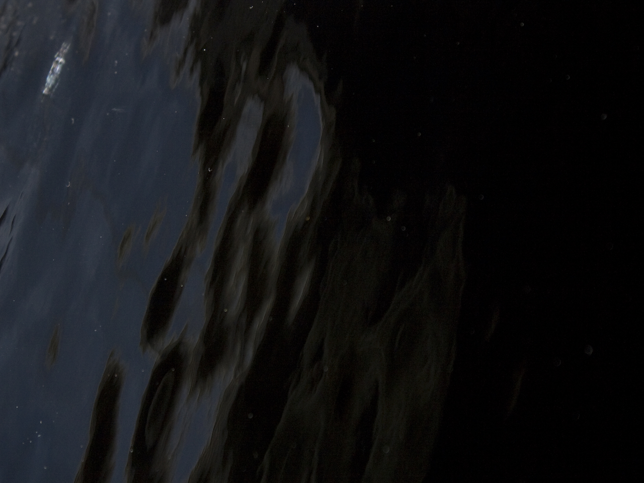 "Black   Opaque  ""Waterglass"" texture"