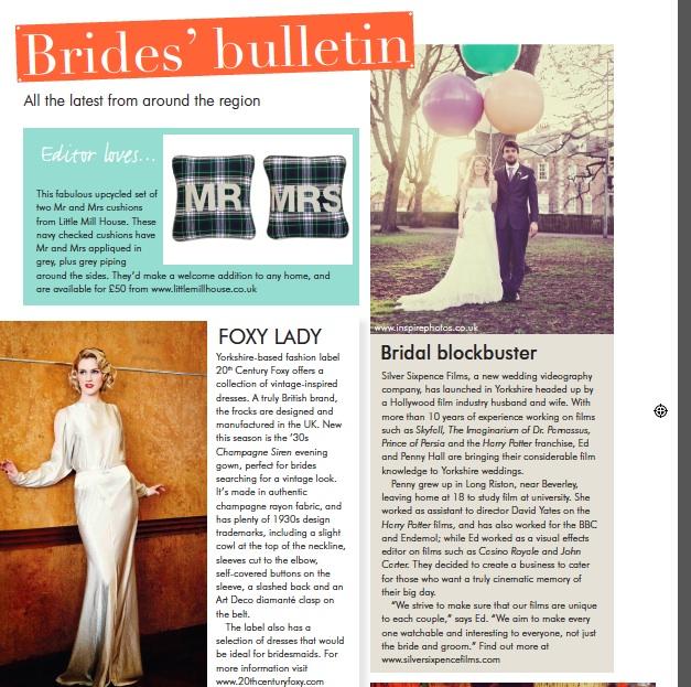 Your Yorkshire Wedding Magazine - Nov/Dec 2013