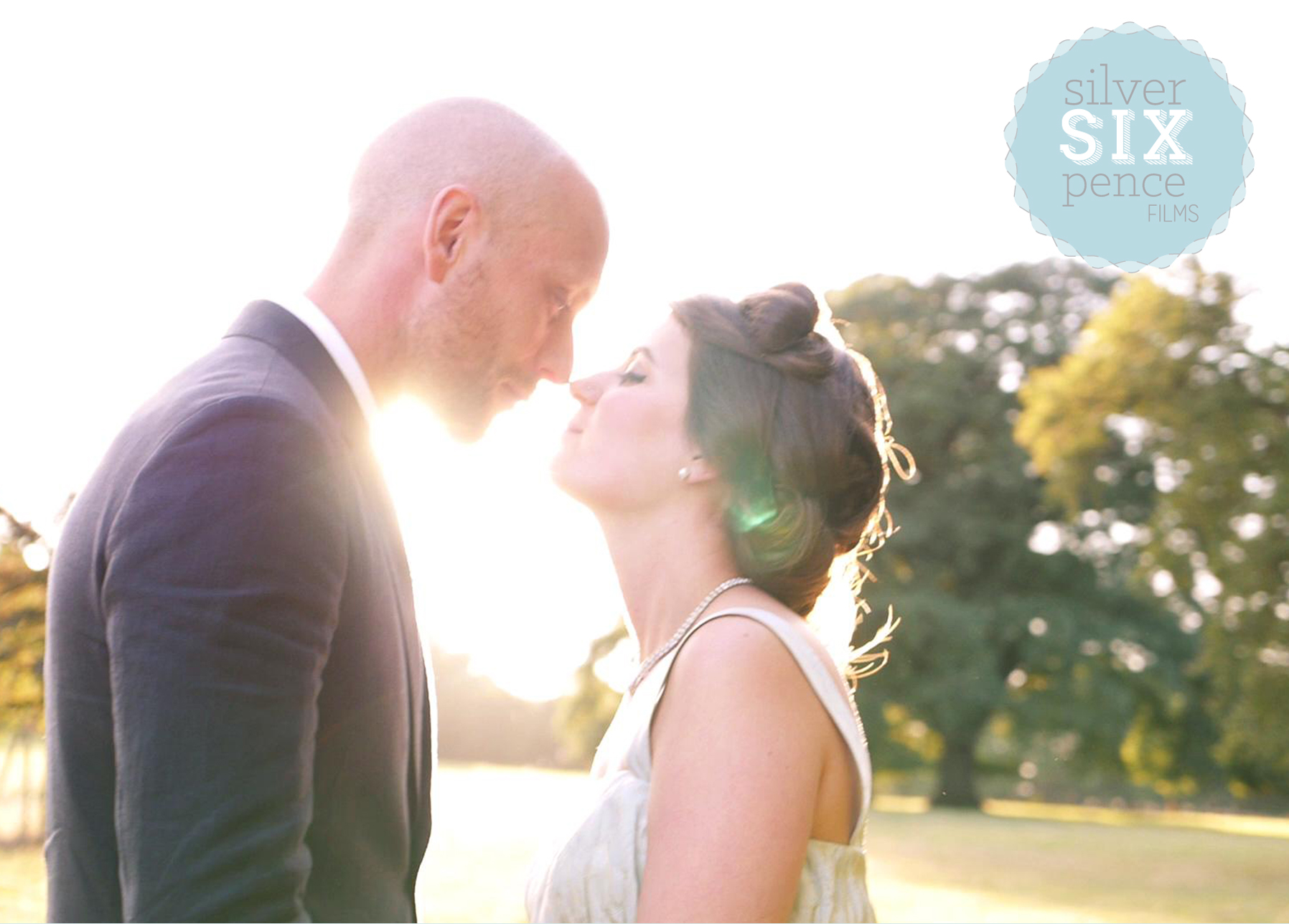 Silver Sixpence Films capture beautiful, cinematic wedding films.