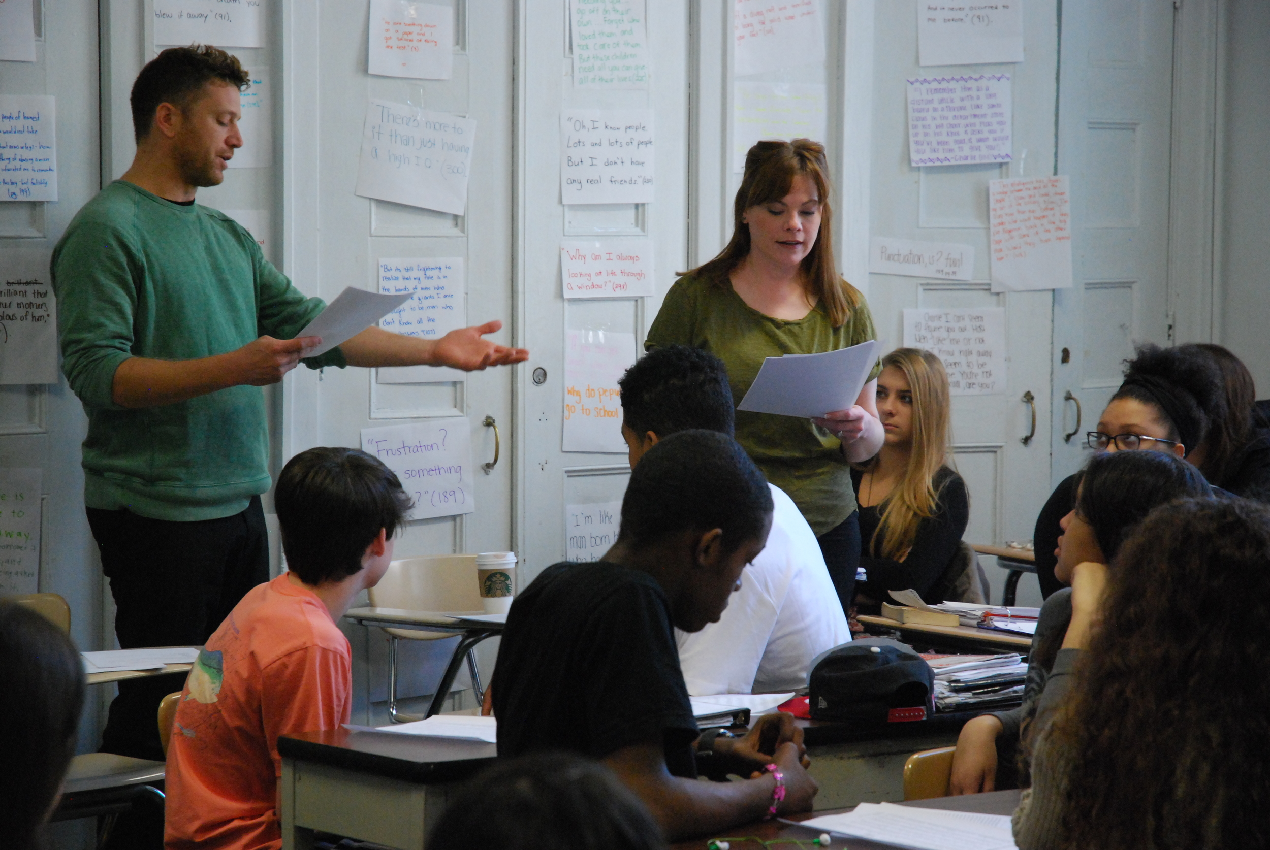 Working with student playwrights at PPAS