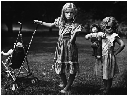The New Mothers , Sally Mann, 1989