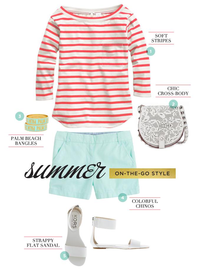 summer on-the-go style