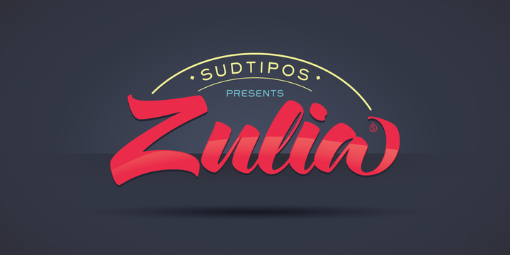 zulia typeface by sudtipos