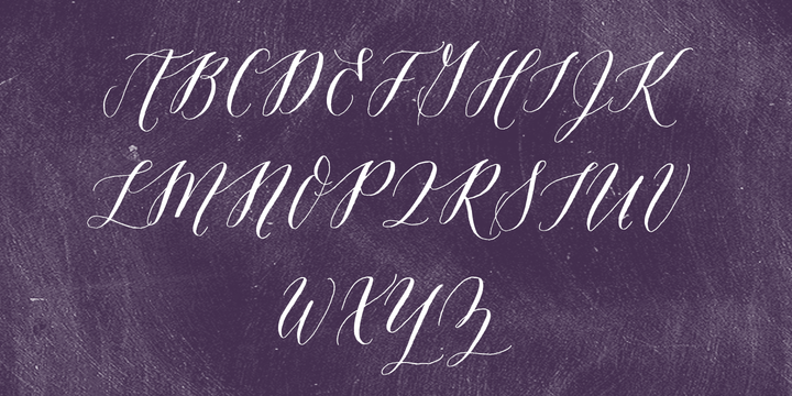 Amethyst typeface by Molly Jacques Erickson