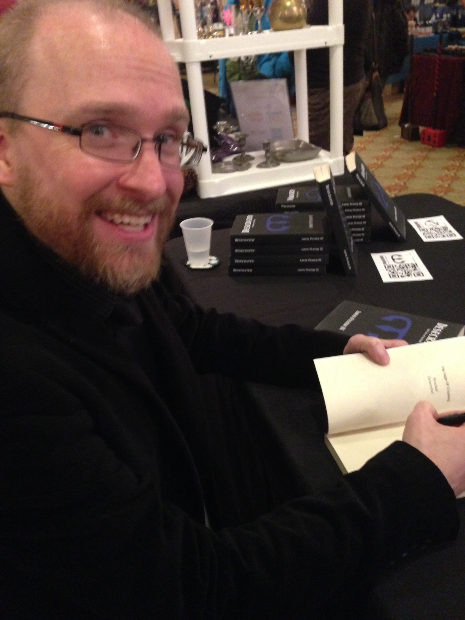 See how happy signing books makes me?