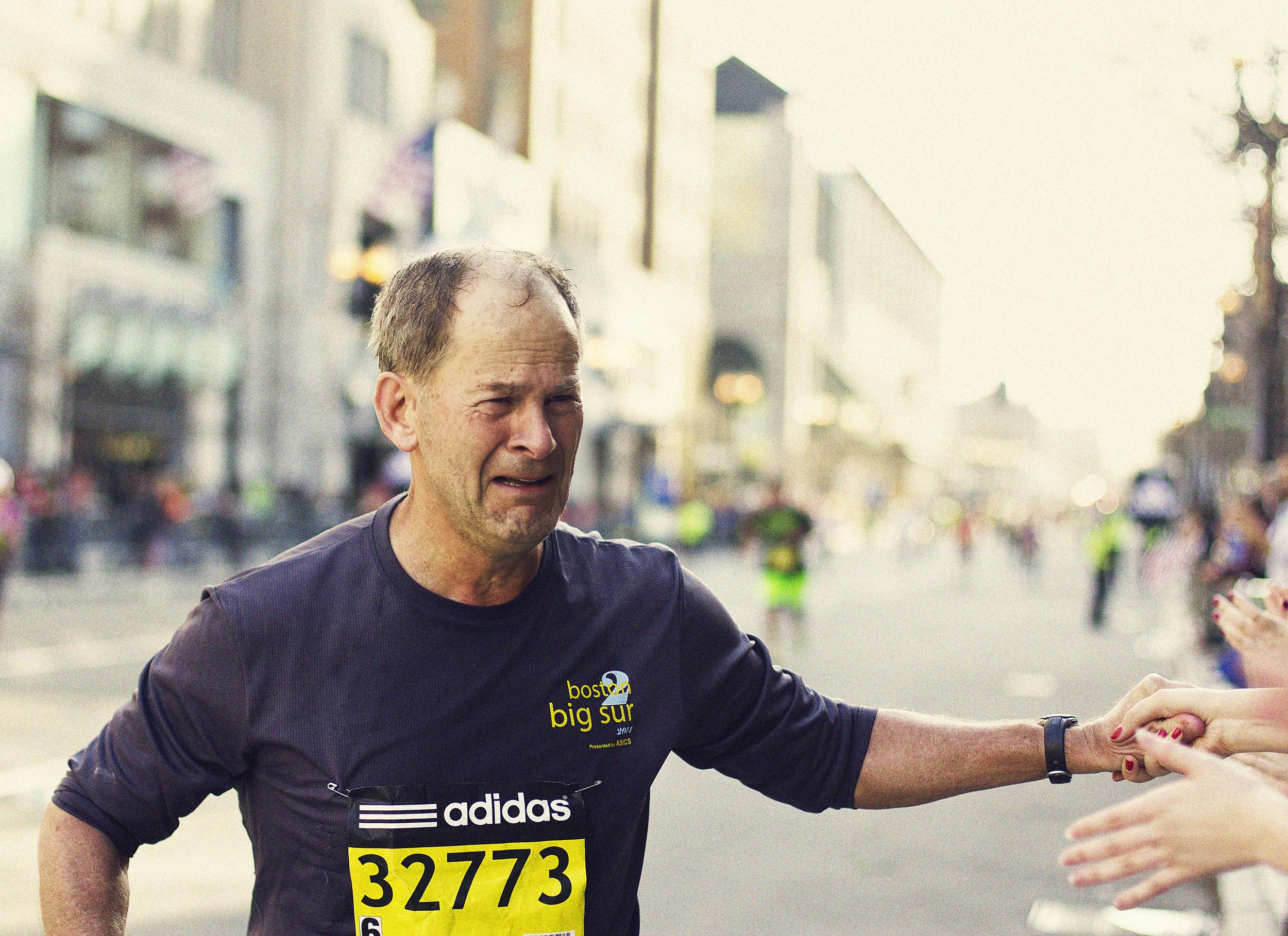 The Boston Marathon, Boston, Massachusetts, April 2014
