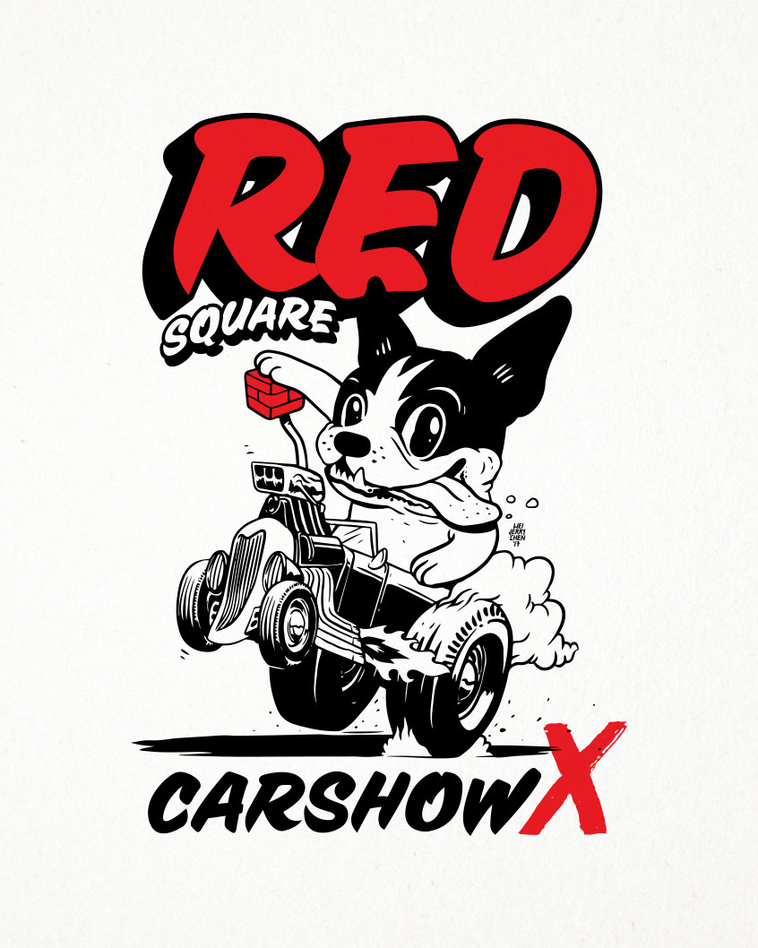 Shirt Design for Red Square Car Show 2017