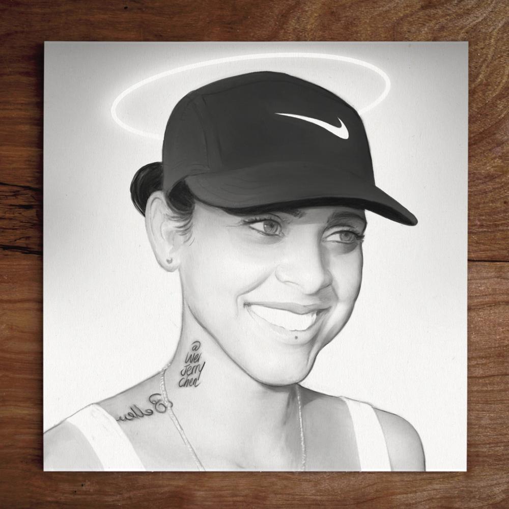 #weistedportraits No. 76 Model: @LinzyPiinzy 👼 #nike #angel