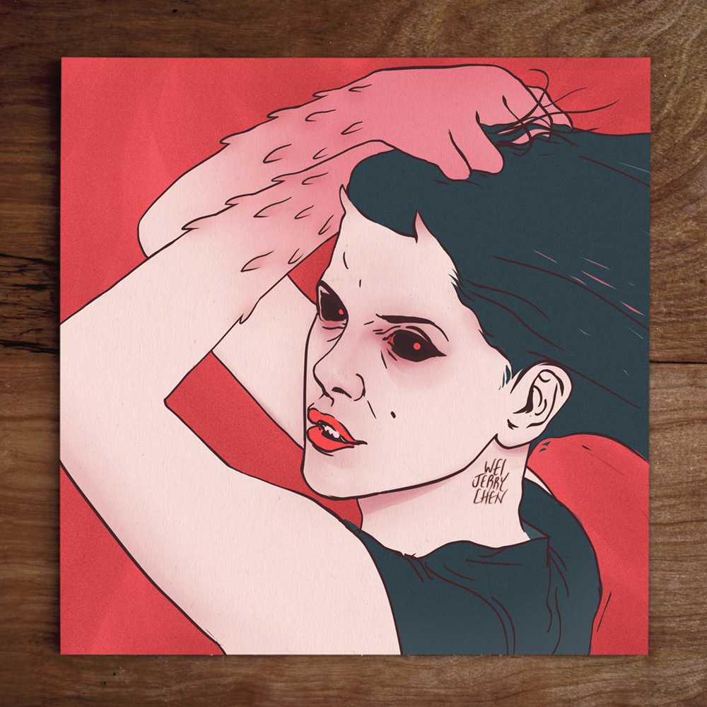 #weistedportraits No. 75 Model: @Who.Shot.Stina aka @Chi.flo Red Dots 👹 #ChiFlo