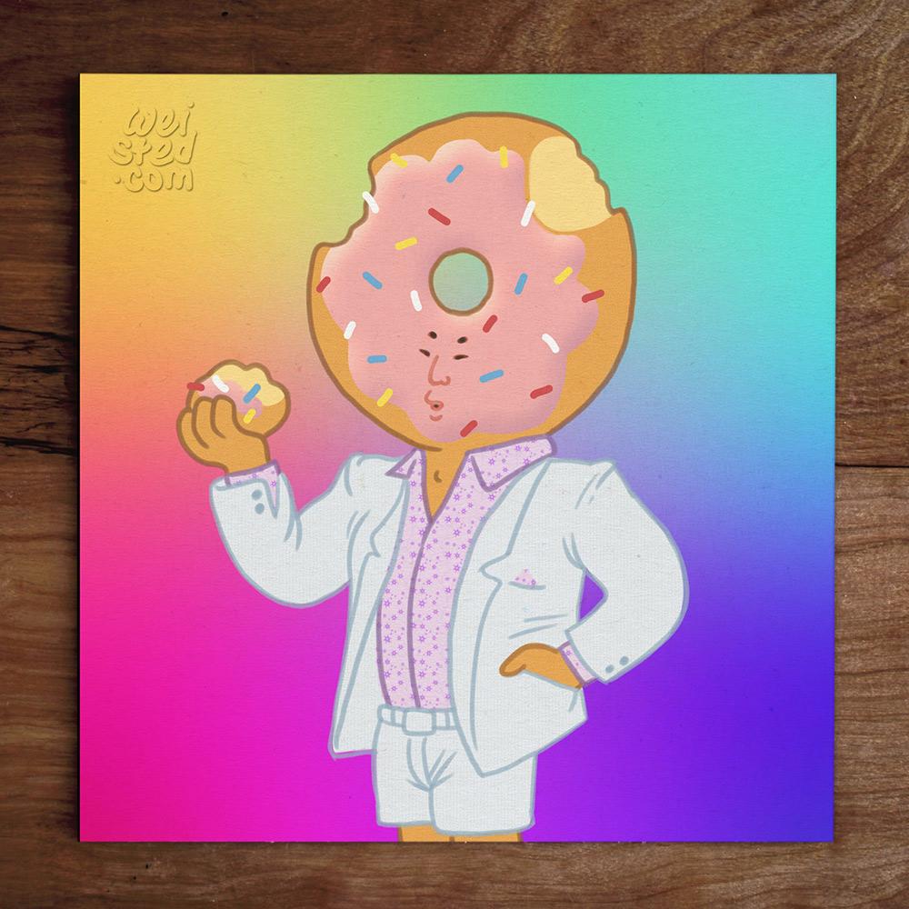Model No.420: @neuefilms #TGIF Doughboy! 🍩