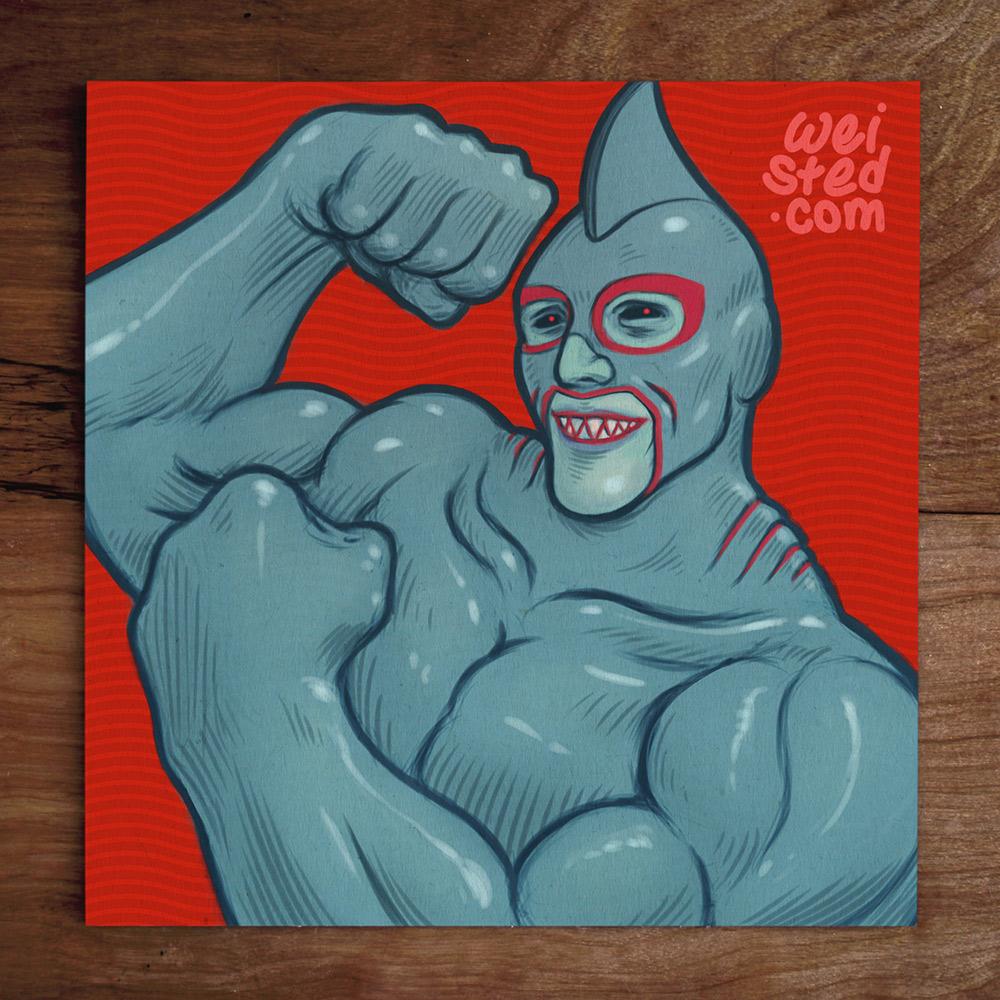 Model No.38: @DatDjTho Sharkboi El Luchador