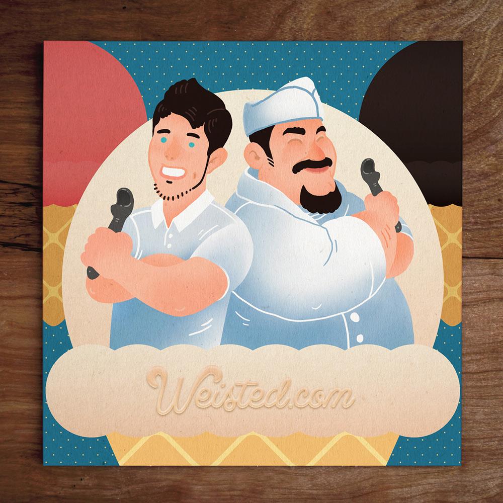 Model No.34 @Yungdrhu & Chef Tony of @BergenHillNY